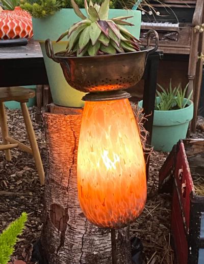 colander light orange